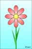 Grafika otázky - květina
